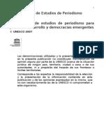 Plan Modelo de Estudios de Periodismo UNESCO