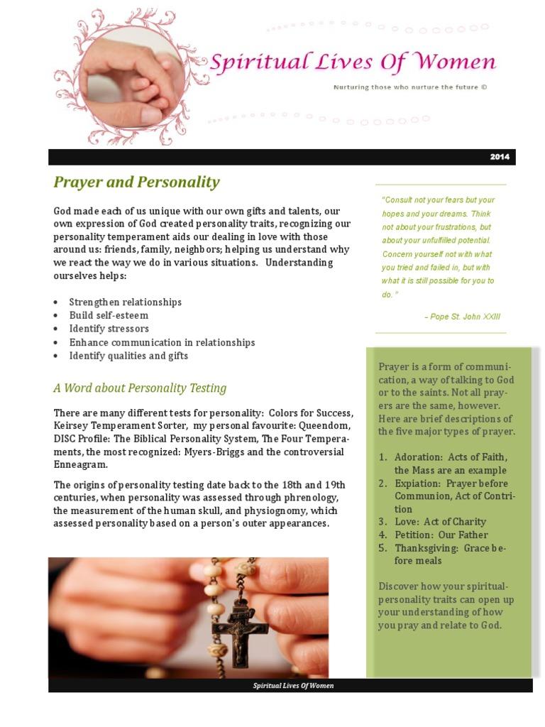 Prayer personality prayer temperament thecheapjerseys Images