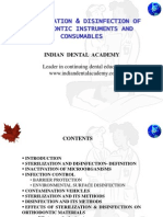 Sterilization of Ortho Instruments / orthodontic courses by Indian dental academy