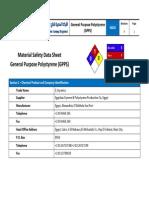 E-Styrenics Polystyrene GPPS MSDS