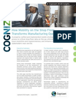 How Mobility on the Shop Floor Transforms Operations