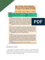 Psicomotricidade história, desenvolvimento, conceitos, definição e intervenção profissional