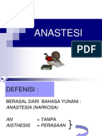 ANASTESI