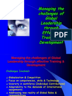 Managing the challenges of Global Leadership through effective.ppt