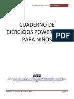 59378222 Cuaderno de Ejercicios Powerpoint Para Ninos