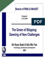 Green Shipping Jul 09dfs