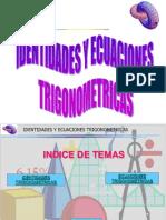 Identidades y Ecuaciones Trigonometricas 1