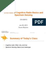 CN S2013 SpectrumSensing