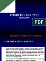 Permit to Work Training