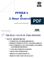 Pfmea Overview