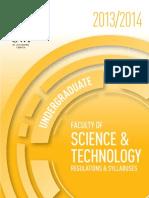 Science Tech Undergrad UWI