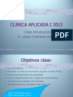 Clase 1 Clinica 2013