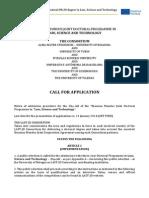Call4app 2014 LAST JD