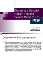 PPT on InfoSecure Methodology