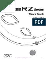RISO RZ User Guide