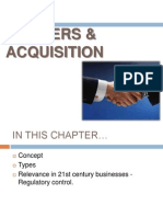 Merges & Acquisition