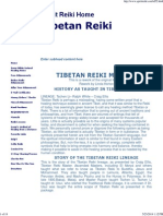 Tibetan Reiki