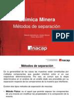 Qca. Minera C3 Metodos de Separación