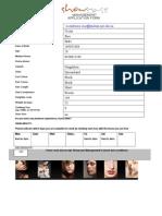 Showcase Application Form