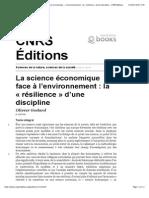 Godard - SciencesEco-Jollivet - 1992 CNRS Éditions