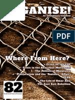 Organise! magazine - Issue 82 - Summer 2014