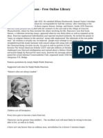 Ralph Waldo Emerson - Free Online Library