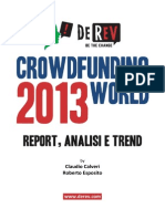 Crowdfunding World Report 2013