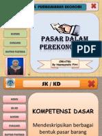 Ppt Hyperlink Pasar