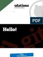 Github Git Training Slides