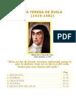 Libro acerca de Santa Teresa de Avila .doc