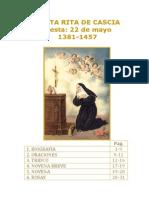 Libro acerca de Santa Rita de Cascia Por Paginas