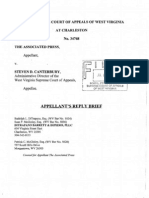 Reply Brief of the Appellant (Associated Press), Associated Press v. Canterbury, No. 34768 (W. Va. Supreme Court)