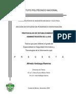 Protocolos Administración Claves