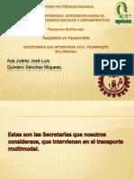Secretarías.