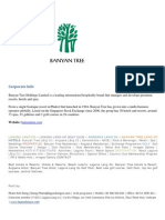 Banyan Tree - Corporate Info