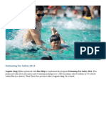 Swimming for Safety 2014 – CSR – Laguna Lang Co