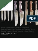 The Cream Society Catalogue