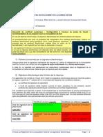 Annexe Au RDC Relative à La Signature Électronique