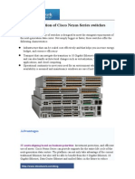 Introduction of Cisco Nexus Series Switches