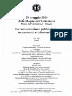 La comunicazione pubblicitaria tra contratto e informazione