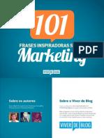 [Viver de Blog] eBook 101 Frases Marketing