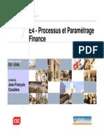 E4 Processus Et Paramétrage Finance