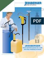 Pompa Manuala de Transfer Jp 04