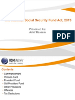 RSM Ashvir - Overview of the NSSF Act 2013