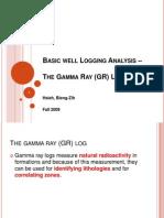 Basic Well Logging Analysis -3 (GR Log)