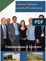 Comune Informa. La Gazzetta di Castronovo di Sicilia (PA)  Gennaio 2009