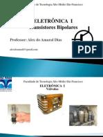 ELETRÔNICA-TRANSISTORES