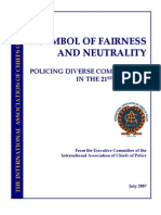 International Association of Chiefs of Police (IACP) - Policing Diverse Communities in the 21st Century (July 2007)