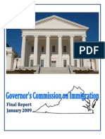 Virginia Governor's Commission on Immigration