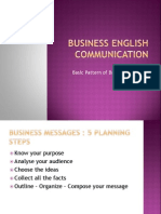 Basic Pattern of Business Messages